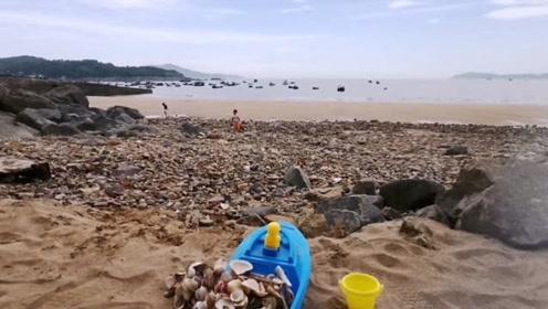 """浙江温州苍南有一个""""极品""""沙滩,却是免费的很少人知道,水很清"""