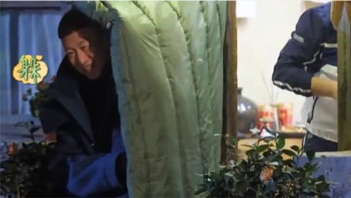 孙红雷综艺中搞笑名场面,独特的见面打招呼方