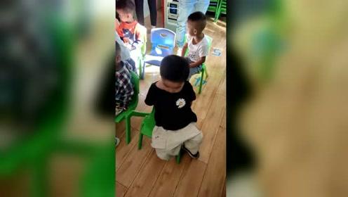 幼儿园开学的第一天