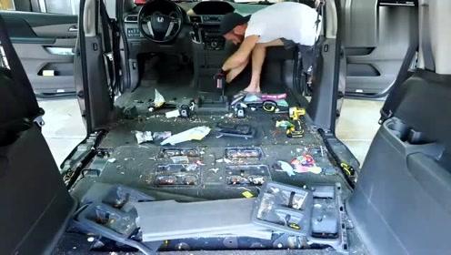 看了老外洗车的视频,把我强迫症都治好了!