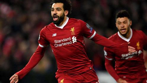 进球大派对。利物浦4:3利兹联,埃及法老萨拉赫带帽。利物浦英超开门红。