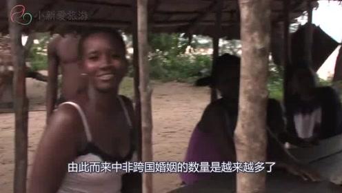 中国小伙:娶了个非洲老婆,天生就好这口,真的看不下去了