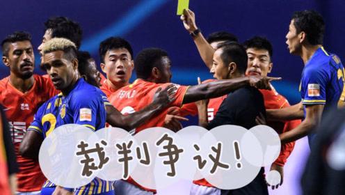 中超裁判又成争议焦点!苏宁不满,恒大上诉,中国足球也差在了裁判