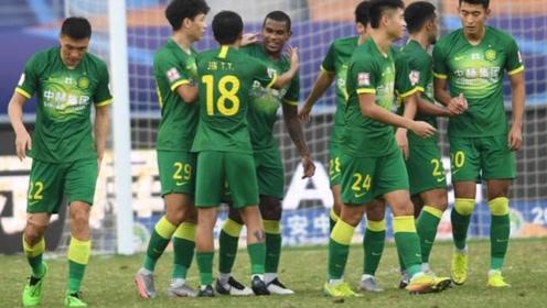 中超联赛第14轮:北京国安4:0大胜石家庄永昌