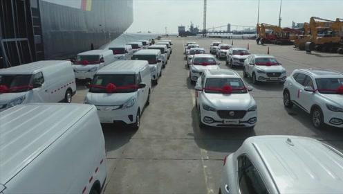 (电视通稿·今日新闻)中国汽车行业首条自主经营的欧洲航线起航