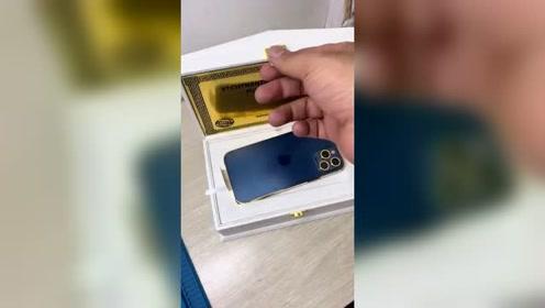限量版苹果12黄金版,开箱视频来了!