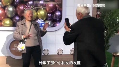 杭州一老爷爷下蹲20分钟给奶奶拍照,这样的神仙爱情太令人羡慕了