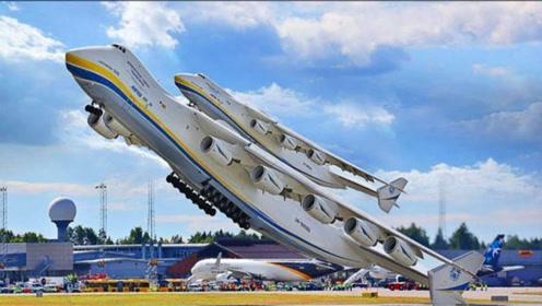 全球最大的飞机,起飞的瞬间,简直就是空中巨无霸!