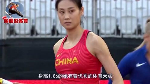 中国女子田径颜值担当,1米86撑杆跳女神李玲,满屏都是大长腿