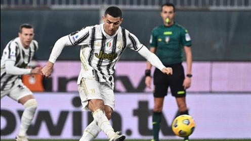 意甲迪巴拉赛季首球,C罗双响定胜负,尤文3-1热那亚