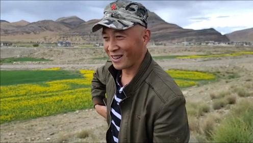 西藏偶遇中国印度边境老班长,他保持军人风范,已自驾游28万公里