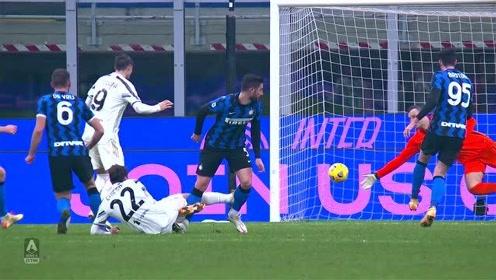 意甲-C罗进球被吹比达尔破门 国米2-0尤文追平米兰