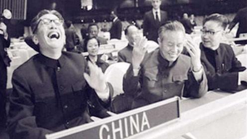 1971年,中国重返联合国后,周总理说下一段经典