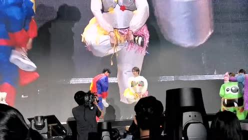 舅舅和温宁小天使玩游戏!!