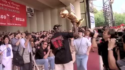 为篮球而生的天才 8分钟唯美慢镜头回顾乔丹生涯