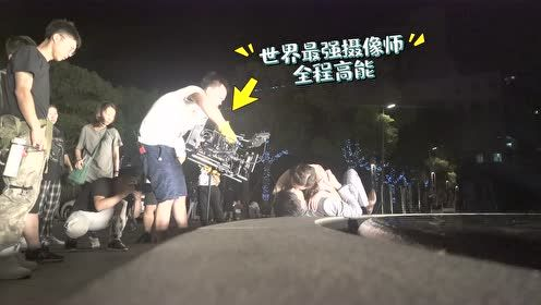 Behind the scenes: Precious kiss scene   Well Intended Love S2
