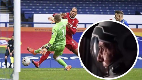 毫无违和!来自未来的利物浦球迷为范迪克重伤撕心裂肺痛哭