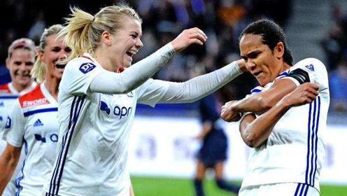 绝对统治!欧洲女足霸主里昂欧冠五连冠 队史第七冠