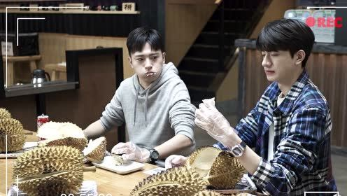 BTS: Lin Yi had durians till he wanna threw up | Love Scenery