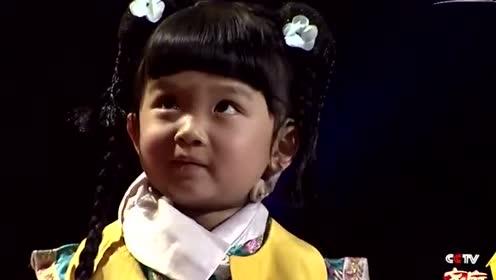 三岁萌娃版小燕子成语接龙,跟她对话简直就是