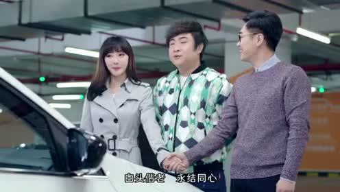 屌丝男士:大鹏欢乐卖车,边打广告边搞笑!