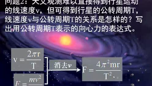 高中物理必修2第六章 萬有引力與航天 1.行星的運動
