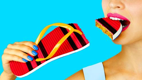 爆笑食物恶作剧,创意DIY奇葩的食物恶搞,吃货