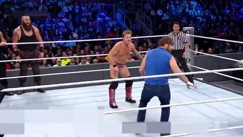 不一样的WWE技术,在台上玩的太花样,不愧是老将
