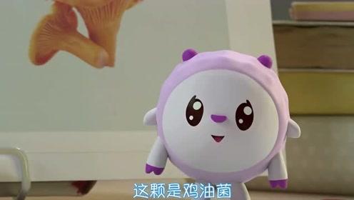 瑞奇宝宝:甜甜,要和我们大家一起 认识蘑菇吗
