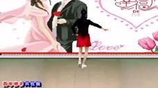 《相伴一生》简单易学的24步,美女舞蹈很有风格