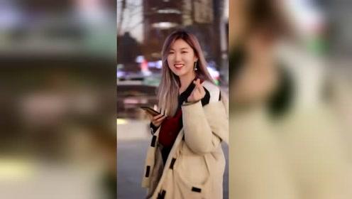【精选短视频】街拍时尚美女第1期