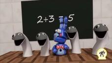 怪兽学校,恶搞数学测验,第十七集!