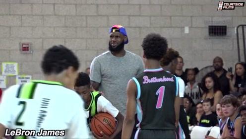 NBA球星都现场去围观的学生比赛精彩集锦