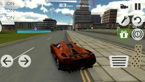 超凡极速赛车:顶级超跑柯尼塞格改装颜色非常独特的变色龙跑车?
