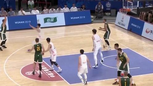 军运会时事:中国男篮3分之差败北立陶宛,无缘