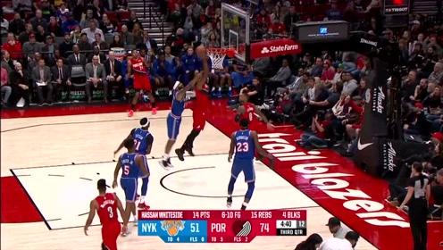 【NBA晚自习】小红花:安东尼学长总篮板数达到7000个
