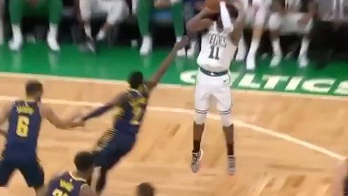 NBA季后赛#假突真投,欧文浑身都是戏
