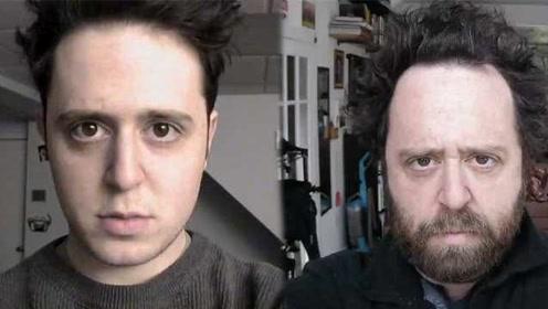 男子坚持自拍20年,容貌发生了这些变化