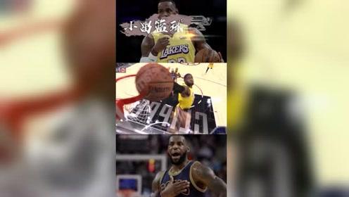 NBA轻松时刻:詹姆斯这波盖帽让我看笑了!