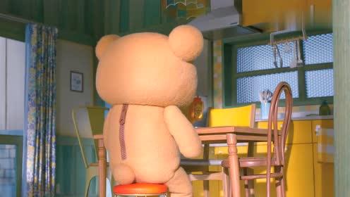 轻松小熊和小薰:吃早饭!