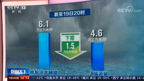 """""""長江今年第2號洪水""""平穩通過三峽大壩"""