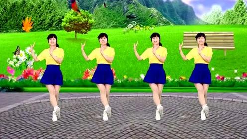 超火舞曲《鸟儿对花说》32步弹跳舞,大家都在跳,您学会了吗