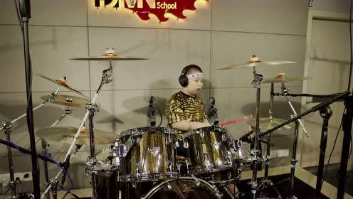 鼓乐盛典-儿童规定组Funk-珠海魔鬼音符现代音乐-杨鸿睿(8岁)-王珂老师
