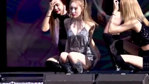 韩国女团吊带热舞表现力强!