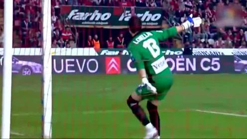 从卡尔德隆走出的天才少年阿圭罗早在西甲时就已经锋芒毕露