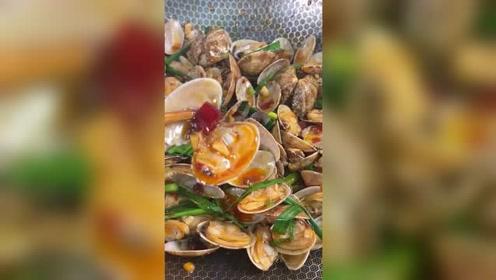 美食教程分享:夜市的炒花甲你知道怎么做吗?为什么人家做的这么好吃