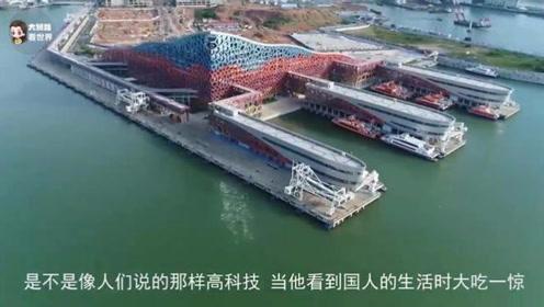 越南人到中国旅游,看见中国人坐高铁也想试试,结果愣了