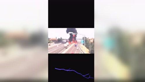 油罐车爆炸威力有多大?看完这个视频你会吓一跳!
