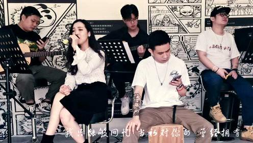 广州零基础学唱歌-真声流行音乐指导中心-流着泪说分手(改编合唱版)#戏精上身的我# #恋爱圣经#