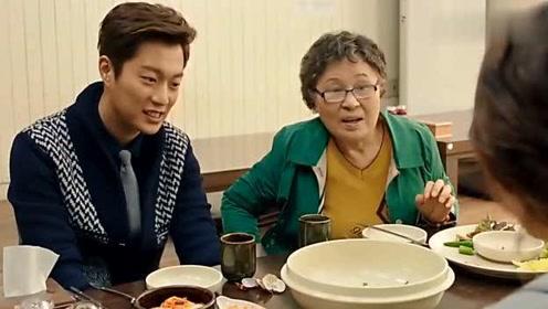 韩剧:女主吃多了,被**说胃口不小,不好意思吃了